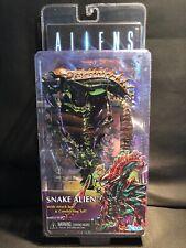 Neca Aliens Snake Alien 7� Action Figure New Kenner Tribute