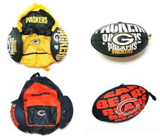 NFL 2-in-1 Football Convertible Backpack Bag: Chicago Bears, Green Bay Packers