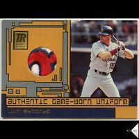 2001 Topps Reserve Game-Used Uniform Jim Edmonds #TRR-JE Logo Patch Cardinals