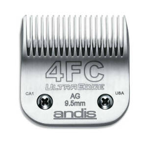 Andis UltraEdge Detachable Blade, Size 4FC - Leaves 9.5mm Fits Andis, Wahl, Oste