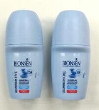 2x BIONSEN Deodorant Roll on Parabens Free 50ml