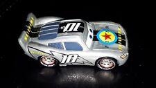 Disney Pixar Cars Motorama 10th Anniversary Lightning McQueen Rare Blank Base