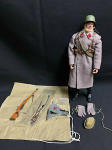 DRAGON / DID WWII CUSTOM RUSSIAN  ALERT LINE 1:6 Scale Action Figure