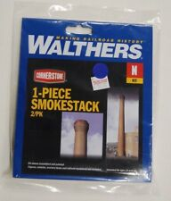N Walthers Cornerstone kit 933-3289 * 1-Piece Smokestack 2/Pk