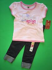 "NEW ""Precious CARGO"" Baby Girls 2 Pc Shirt Leggings Pants 18 Months Gift! Outfit"