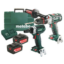 Metabo 18V 2 Piece Impact Drill/Impact Wrench Combo AU68901320I
