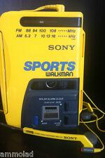RARE Original 1980s Vintage Sony Walkman Sports WM-AF58 Personal Cassette Radio