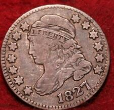 1827 Philadelphia Mint Silver Capped Bust Dime