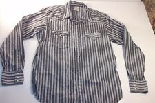 LUCKY BRAND Men's Pearl Snap LS Shirt - LARGE L -Western - NICE - FREE SHIPPING