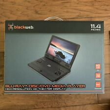 "Blackweb 11.4"" Portable Blu-ray Disc/DVD Media Player High Resolution Display!"
