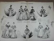 L' ART ET LA MODE - 1893 - No 1 - ILLUSTREE - NOUVEAUTES INEDITES