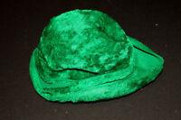 VINTAGE 1960'S GREEN FURRY FELT HAT 22 AUSTRIA
