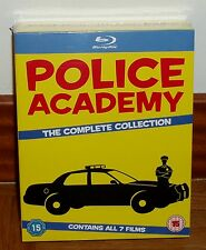 CRAZY ACADEMY OF POLICE PACK 7 BLU-RAY SEALED NEW (UNOPENED)