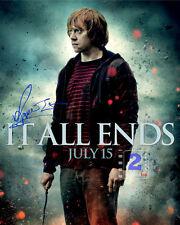 "Rupert Grint 8""x 10"" Signed Color Promo PHOTO REPRINT"