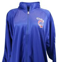 Women's Majestic Chicago Cubs Full Zip  Track Jacket Blue, Plus Size 4x, nwt