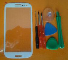 VETRO display ORIGINALE + Tools PER SAMSUNG Galaxy SIII S3 i9300 Bianco