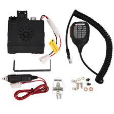 Mini Auto Car Mobile FM Radio VHF/ UHF Dual-Band Transceiver Walkie Talkie
