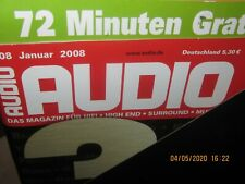 Audio Hifi Magazin Zeitschrift ,kompletter Jahrgang 2008 Heft 1-12