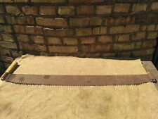 Antique Vintage Two Man Saw 41 in  105 cm