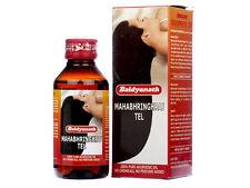 Baidyanath Mahabhringraj Hair Oil - Pure Ayurvedic Herbs50ml