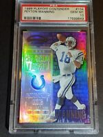 1999 Playoff Contenders #104 Peyton Manning, PSA 10 / GEM MINT / POP 6