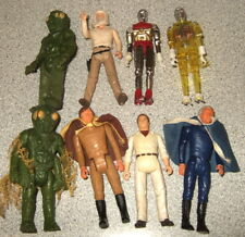 2 Micronauts Mego Glider 1978 Battlestar Galactica Space Action Figures Lot Good