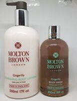 Molton Brown Gingerlily Nourishing Body Lotion 500ml & Body Wash 300ml