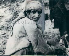 1965 Muslim Refugee Hajira Kashmir Press Photo