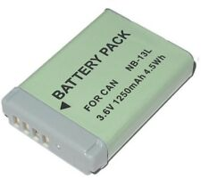 Replacement Battery Nb-13l NB13L Canon PowerShot Sx720 N100 G5x G7X G9X
