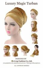 Luxury Beaded Velvet Headwrap Extra Long Turban Chemo Cap Tichel Hijab Fast Ship