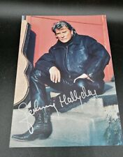 Autographe Johnny Hallyday photo dedicace autograph