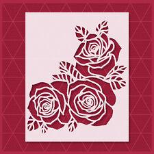 Rose Flower Stencil - Reusable Mylar