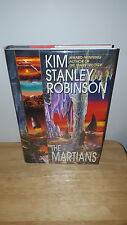 SIGNED Kim Stanley Robinson - The Martians - First Edition - Free U.S. Shipping