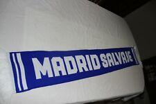 BUFANDA DE FUTBOL DEL REAL MADRID MADRID SALVAJE MUY COTIZADA     SCARF