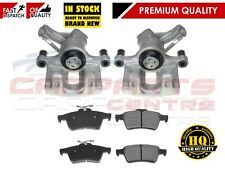 FOR VAUXHALL OPEL VECTRA C SIGNUM REAR LEFT RIGHT BRAKE CALIPERS and PAD SET
