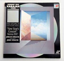 LASERDISC / HERBERT VON KARAJAN (CONCERT-MUSIQUE) LD CD VIDEO PAL TV