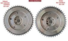 2xIntake&Exhaust Camshaft Phaser Gears Fit Buick Verano Regal LaCrosse 2.0L 2.4L