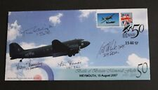 GB 2007 Battle Britain Weymouth signed pilots flown Bletchley Park Ltd Ed FDC