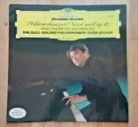 2530 258 - BRAHMS PIANO CONCERTO 1 - EMIL GILELS -  VINYL LP RECORD