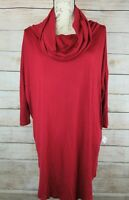 NEW Anna Lane Womens Slouch Shirt Size L Cowl Neck Pullover Tunic 3/4 Sleeve NWT