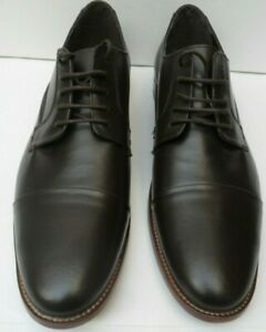 Men's John White Original Rogues New Brown Leather Shoes - Size UK 12
