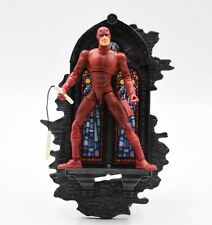 ToyBiz - Spider-Man Classics Series II - Daredevil (with Backdrop) Action Figure