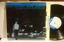 "WAYNE SHORTER LP ""Night Dreamer"" ORIGINAL BLUE NOTE MONO NY/USA EAR RVG VG"
