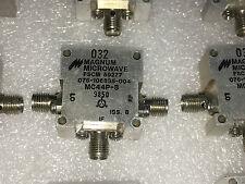 MAGNUM MICROWAVE MC44P-8 4-12GHz SMA RF Coaxial Double Balanced Mixer