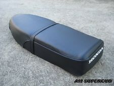 HONDA Cub C65 C70 C90 CM90 CM91 Complete Double Seat Black // High Quality