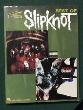 Best Of Slipknot Transcribed Scores Book Music Songs