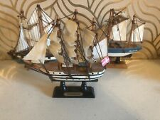 3 Great Small Model Ships
