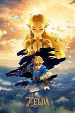 EXCLUSIVE THE LEGEND OF ZELDA: BREATH OF THE WILD Poster (A3: 28 x 42 cm)