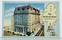 Washington  DC The Willard Hotel Postcard J11