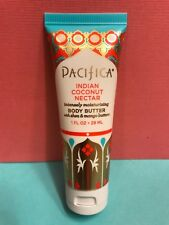 PACIFICA Indian Coconut Nectar Body Butter Natural Vegan Deluxe Travel 1oz SEAL!
